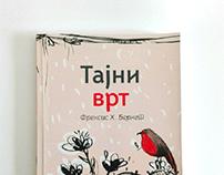Book cover design for The Secret garden
