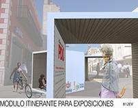 Concurso Pani, Modulo itinerante para exposiciones