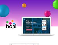 Hopi Onepage Web Design'2015
