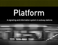 Platform, a signaling system in subway