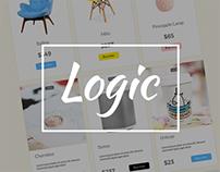 Logic Free Ecommerce UI Kit - 2016