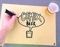 Comix Beer Labels