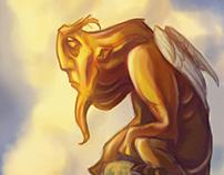Sad Sphinx - Speedpaint