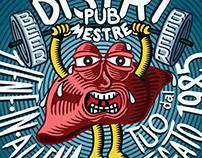 DISTRI PUB coasters