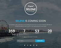 Selene - Responsive Coming Soon Template