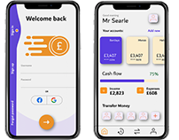 UI Design - Fintech app design concept