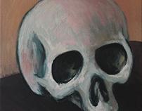 Crâne plâtre