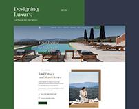 Luxury Villa - Website