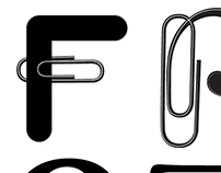 Paperclip Letterforms