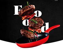 Food - Landing page
