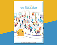 The Little Next Door - Menu Design