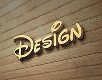 Wood Wall Logo MockUp Free PSD Template