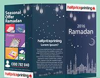 Ramadan Calendar designed for Half Price Printing