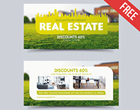 Real Estate – Free Gift Certificate PSD Template