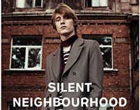 """Silent Neighbourhood"" editorial for REFLEX HOMME mag"