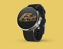 تصميم شعار وهوية فابيولس Logo design and identity fabu