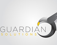 Guardian Solutions Logo and Business Cards