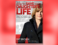 How To Save Your Daughter's Life Book Cover Design