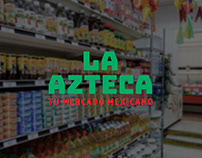 La Azteca rebrand