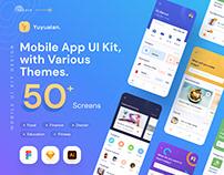Yuyuaian Mobile UI Kit