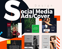 Social media design (ADS/COVER/POST/HEADR)