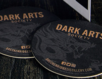 Breckenridge Distillery's Dark Arts Society • Branding