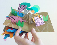 POP-UP BOOK FOR CHILDREN