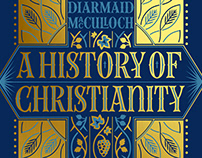 A History of Christianity – Cover Design