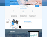 M Consulting Prep Web Design