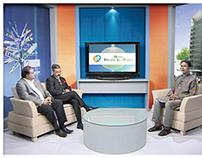 Set Design of প্রবাসে বাংলাদেশ Ekushey TV Telecast NRB
