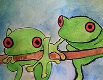 Ilustração - Zoo da Zu