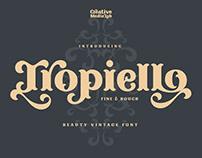 Tropiello - Beauty Vintage Font