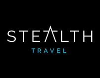 Stealth Travel Branding & Logo