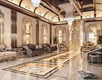 Council of men - Russian decor