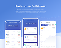 Cryptocurrency Portfolio App