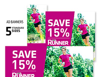 Trail Runner Subscription Banners