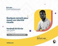 EtriLabs Sessions Visual Rebrand 2021