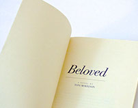 An excerpt from the novel Beloved by Toni Morrison