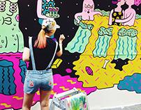 Coex Handmade Korea Fair 2014- LivePainting