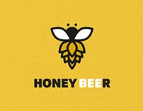 Honey Beer Identity design