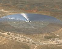 Planta Solar Redstone 3D