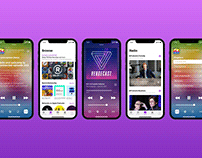 Apple Podcasts Concept