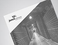 Junex - Brochura Caves de Vinhos