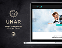 Unar - Modern & Clean Business WordPress Themes