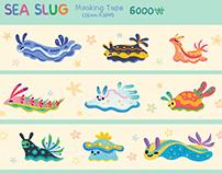 Sea slug pattern