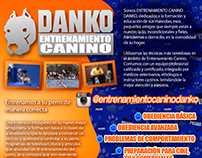 Danko K9 Dog trainer branding