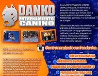 Danko K9 Dog trainer branding