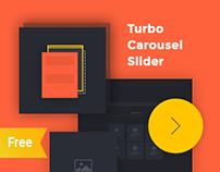 Turbo free responsive carousel slider