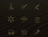 Icons - Wild West