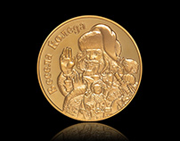 Christmas Coins - Product Photography